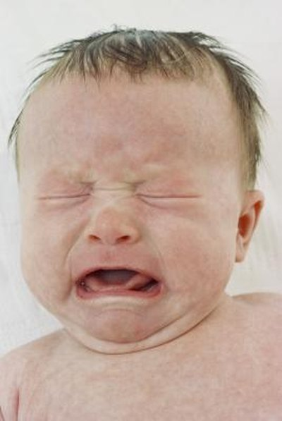Baby Cries When Having a Bowel Movement