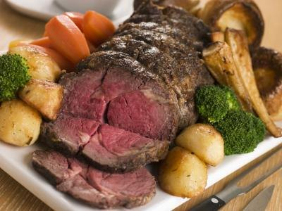 Roast Beef Dinner Menu Suggestions