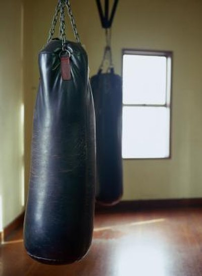 How to Raise a Punching Bag Using a Carabiner
