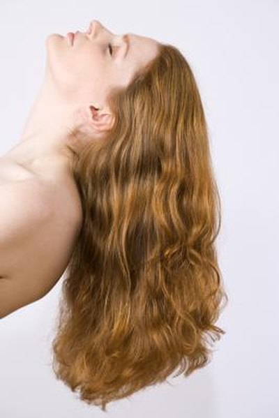 How to Prevent Knots in the Back of Long Hair When Down