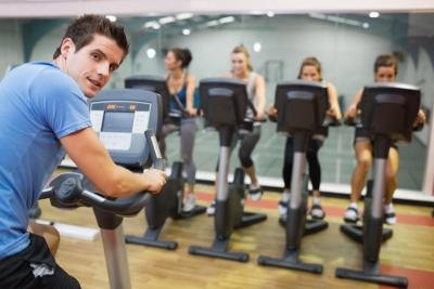 A group environment can be beneficial to a workout.