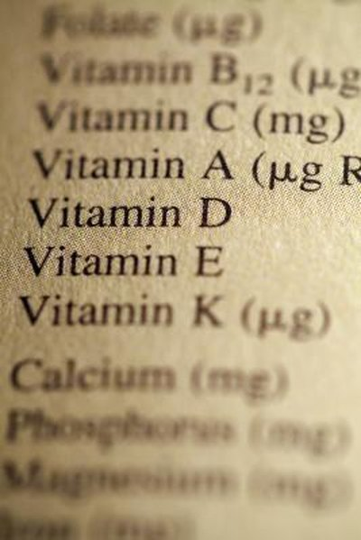 Vitamins for Recovering Meth Addicts