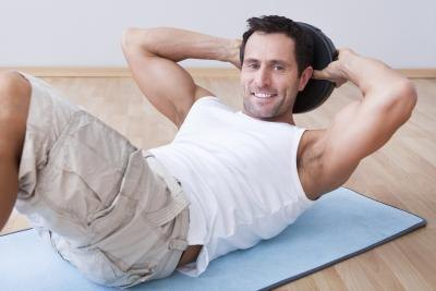 Men Flat Stomach Exercises
