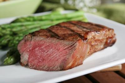 Calories in a New York Strip Steak