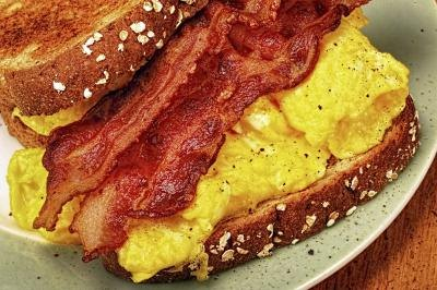 Calories in a Bacon Egg & Cheese Sandwich