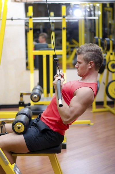 Cable Pulley Machine Beginner Exercises
