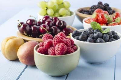 High Antioxidant Fruits & Vegetables