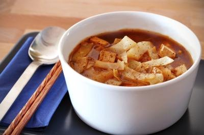 Nutrition in Hot & Sour Soup From a Chinese Food Restaurant