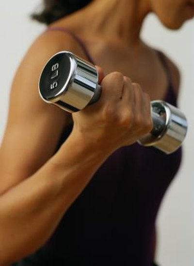 Upper Arm Weight Exercises for Women