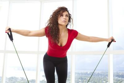 Bungee Cord Exercises for Fitness Training