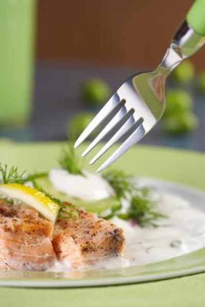 How to Bake a Salmon With Miracle Whip