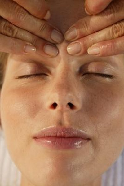 Facial massage to help lymph please