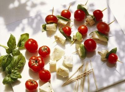Low-Fat Substitutions for Mozzarella Cheese