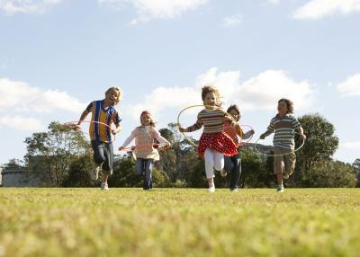 Outdoor Games to Play With 5 & 6 Years Olds