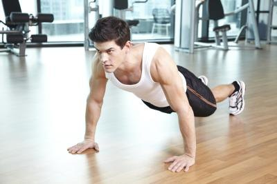 Joint Movements in Pushups