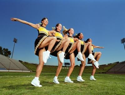 Cheerleading Health Benefits