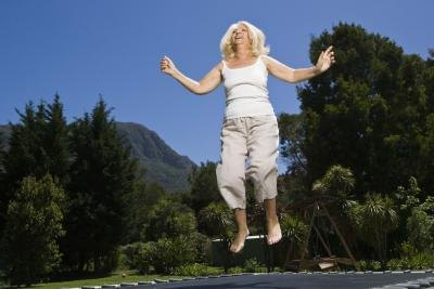Fitness Trampoline for Obese People