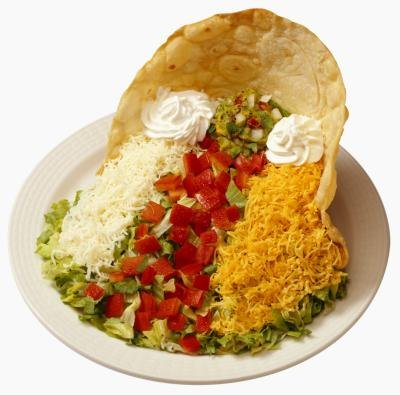 Calories in a Large Taco Salad Shell