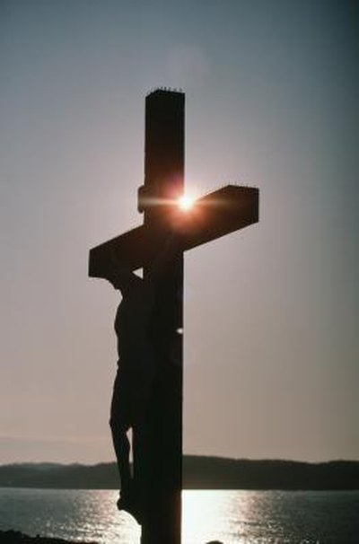 Activities for Kids About Jesus Dying on a Cross