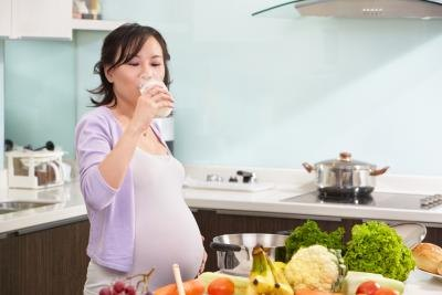 Daily Milk Intake for a Pregnant Woman