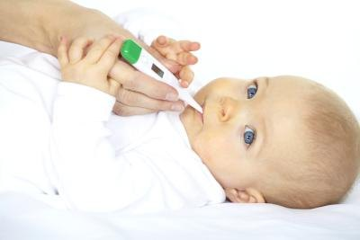 Fever, Coughing, Loss of Appetite, Irritability & Rashes in an Infant