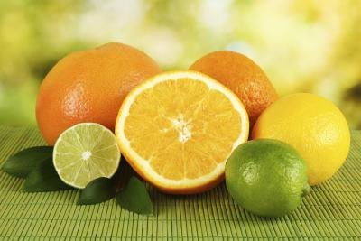 The acid in citrus fruits can be irritating.