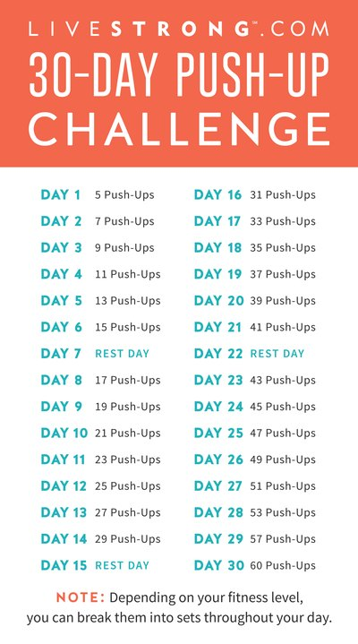 Join the push-up challenge today!
