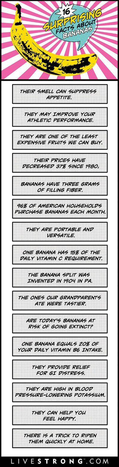 Get your banana facts straight with this infographic.