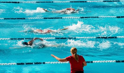 High School Swimming Workouts