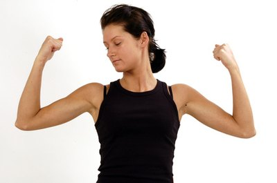 Arm Exercises for Women Without Weights