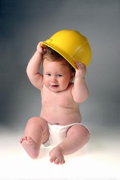 Various Reasons Why a Baby May Wear a Helmet