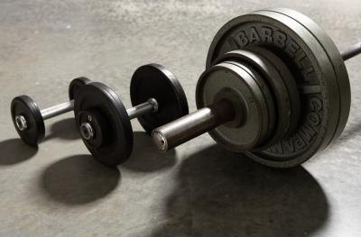 Leg Training With Dumbbells