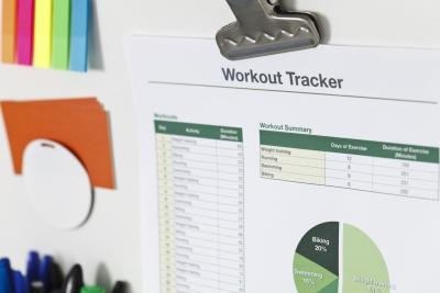 How to Make a Workout Chart