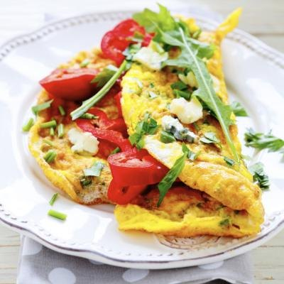 Can Olive Oil Be Used in Place of Butter When Making an Omelet?