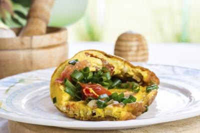 How Many Calories Are In a Vegetable Omelet?
