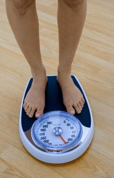 Weight gain when stopping metformin
