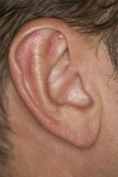 Pimple in the Ear Canal