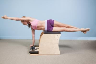 Exercises on the Malibu Pilates Chair