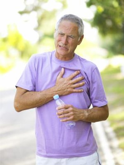 What Are the Causes of Chest Pain & Burning Sensation?