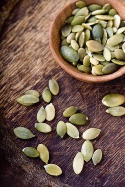 Zinc Content in Pumpkin Seeds