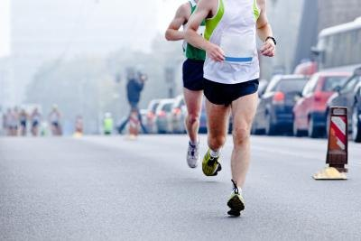 A Marathon Runner's Weight and Speed