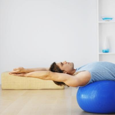 Exercise Ball for Sciatica Relief