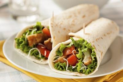 Chicken Wraps Nutrition Facts
