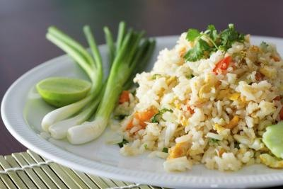 Chinese Vegetable Fried Rice Nutritional Information