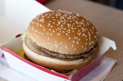 How Many Calories Are in a Regular Hamburger, Small Fries & a Diet Coke