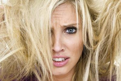 What Causes Hair to Become Dry & Brittle?