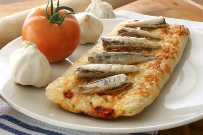 Nutrition Facts for Anchovy Fillets in Oil