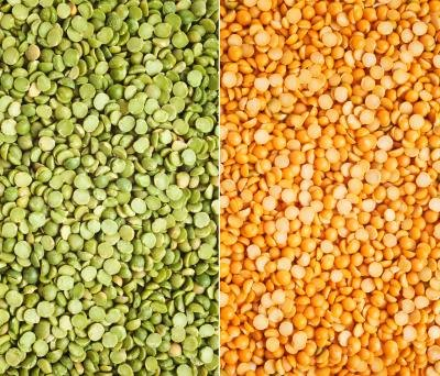 Difference Between Yellow Split Peas & Green Split Peas