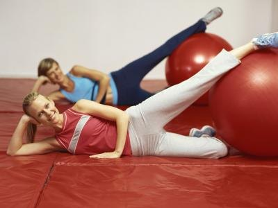 Exercise Ball Exercises for the Inner Thighs