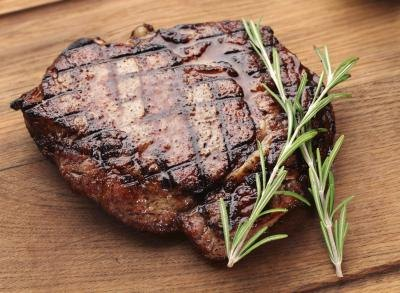 Nutritional Facts for an 8-oz. Steak